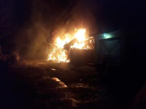 At least 4 shops gutted in fire in Gandri