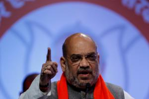 Amit Shah accuses Congress of tacitly approving K...