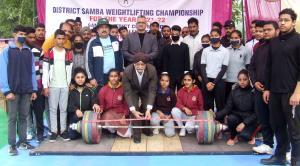Samba Weightlifting gets underway