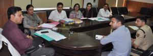 Div Com Jammu reviews progress on demarcation of ...