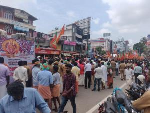 Sabarimala issue: Massive BJP rally in Kerala cap...