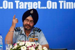 In ode to former IAF Chief BS Dhanoa, Rafale jets...