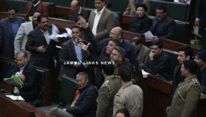 Congress stages walkout from J&K Assembly over La...