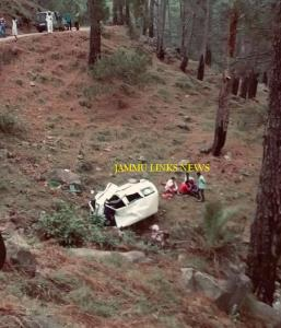 Seven injured in road accident in Udhampur