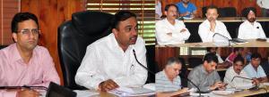 DC Jammu for timely completion of Mega Developmen...