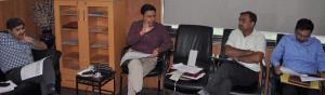 Div Com Jammu reviews progress on Ring Road proje...