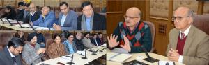 Advisor Sharma, CS hold VC with DCs to review res...