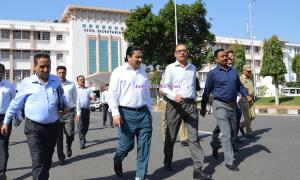 Rohit Kansal reviews Durbar move arrangements in ...
