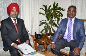 VC SKUAST Jammu meets Lt. Governor