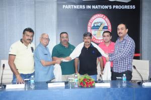 CCI felicitates Arun Manhas