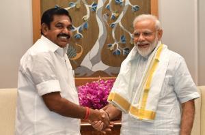 Vijayan meets Modi; raises issue of Trivandrum ai...