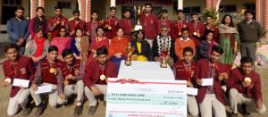 MHAC Nagbani honours Football team