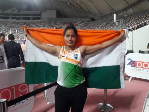 Indian athletes win 5 medals on opening day of As...