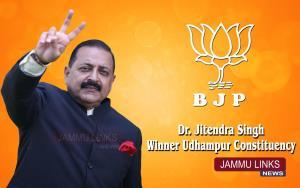 Dr. Jitendra retains Udhampur seat, defeats Vikra...