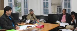 DDC Rajouri reviews Panchayat election preparedne...