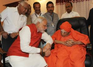 PM condoles demise of Lingayat seer