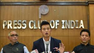 Former football captain Bhaichung Bhutia launches...
