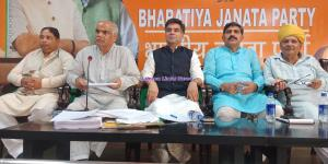 BJP leadership pressed hard for strengthening gra...