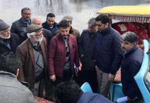 Dal lake fire incident: 5 lakh rupees relief gran...