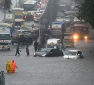 Heavy rains lash Mumbai; train, bus services hit ...