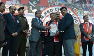 CRPF Earns Second Place in Red Cross Mela
