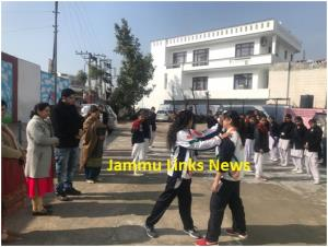 ROB Jammu organises Self Defence Camps for girls
