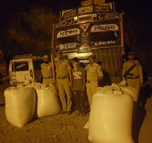 538 kgs poppy straw seized, 5 arrested