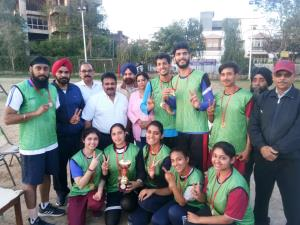 Jammu South Korfball Club Wins  Jammu District Ko...