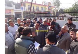 JMC Mayor tours Shiv Nagar, Rajpura areas