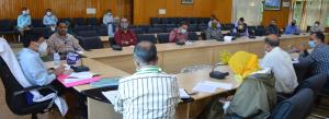 COVID-19: DC Budgam chairs meeting of Nodal offic...