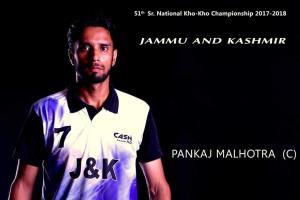 Pankaj bags gold in India-Nepal Kho-Kho Test Seri...