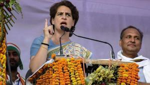 People are watching: Priyanka Gandhi attacks BJP ...