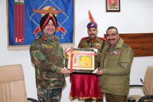 Top Army commander visits police headquarters in ...