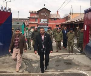 DGP Prisons inspects Srinagar Central Jail