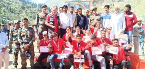 Army organised Run for Harmony in Chhatru