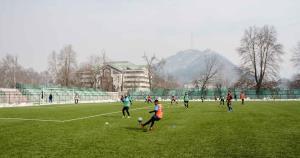 Srinagar to get international level football stad...