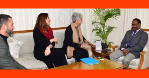 UNICEF representative meets J&K LG, briefs him ab...