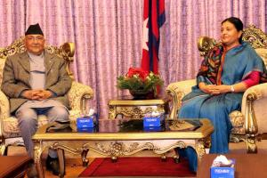 Nepal President, Prime Minister greet nation on V...