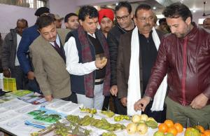 Union Agriculture Minister inaugurates several pr...