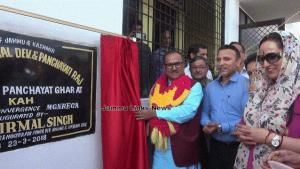 Dy CM convenes public grievances redress camps