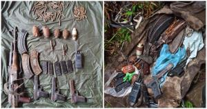 Terrorist hideout busted in Poonch, arms, ammunit...