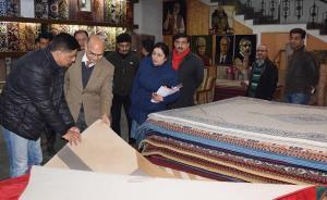 Advisor Sharma visits Bari Brahmana Industrial Es...