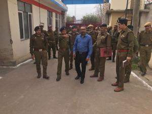 DGP Prisons inspects District Jail Poonch