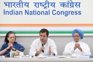 Rahul Gandhi ticks off 3 senior Congress leaders ...