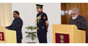 Lt Governor administers oath to BR Sharma as Chai...