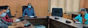 Director Horticulture Kashmir reviews functioning...