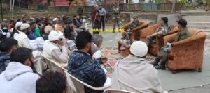 Army interacts with newly elected Panchayat membe...