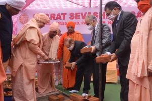 BSS performs 'Bhoomi Pujan' for school, hospital,...