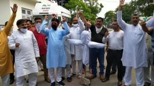 NPP stages protest, demands restoration of 4G mob...
