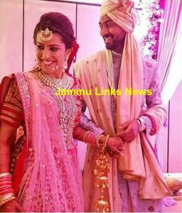 Jammu Girl Pankhuri Sharma Ties Knot With Cricket...